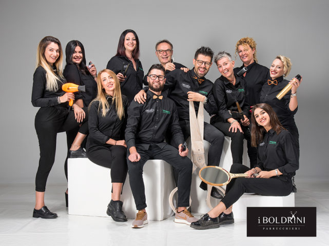 shooting staff Boldrini Parrucchieri